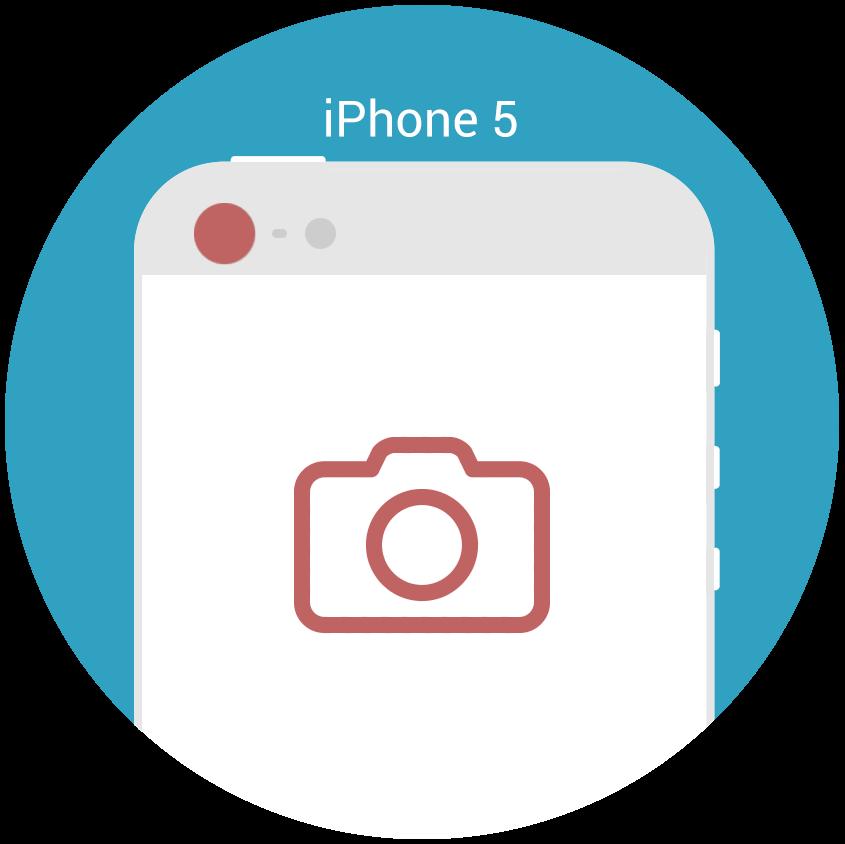 iphone 5 hauptkamera reparatur nrepair iphone reparaturen. Black Bedroom Furniture Sets. Home Design Ideas