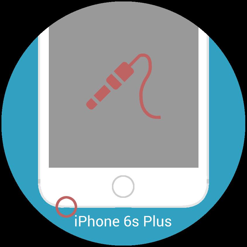 iphone 6s plus kopfh rerbuchse reparatur nrepair iphone reparaturen. Black Bedroom Furniture Sets. Home Design Ideas