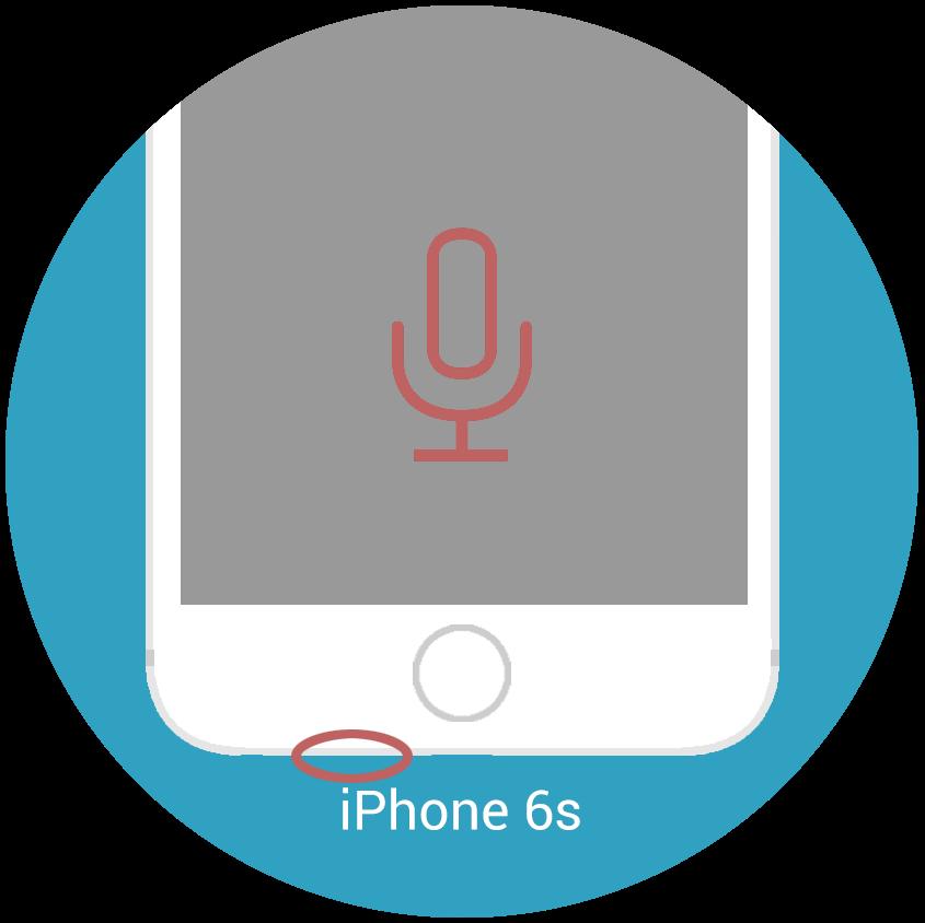 iphone 6s mikrofon reparatur nrepair iphone reparaturen. Black Bedroom Furniture Sets. Home Design Ideas